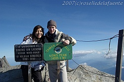 Summit of Borneo